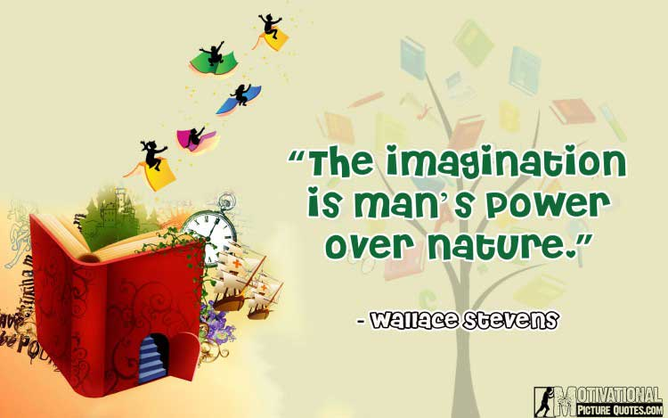 Wallace Stevens quotes about imaginations