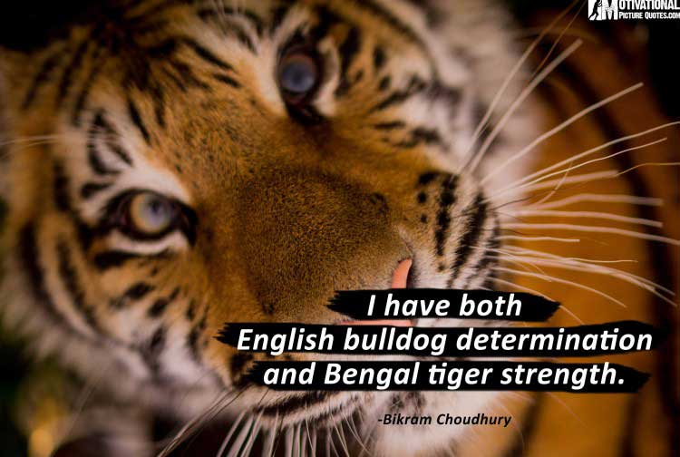 quotes about determination by Bikram Choudhury