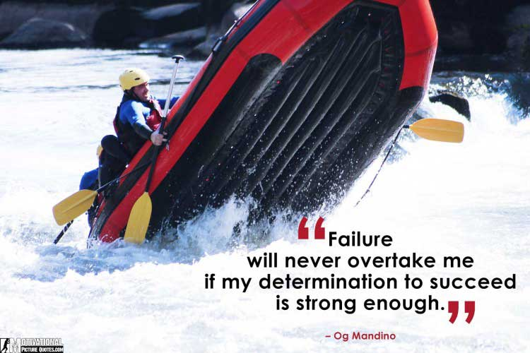 quotes about determination by Og Mandino