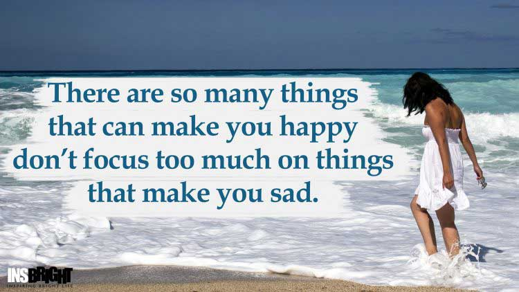 dont be sad quote picture