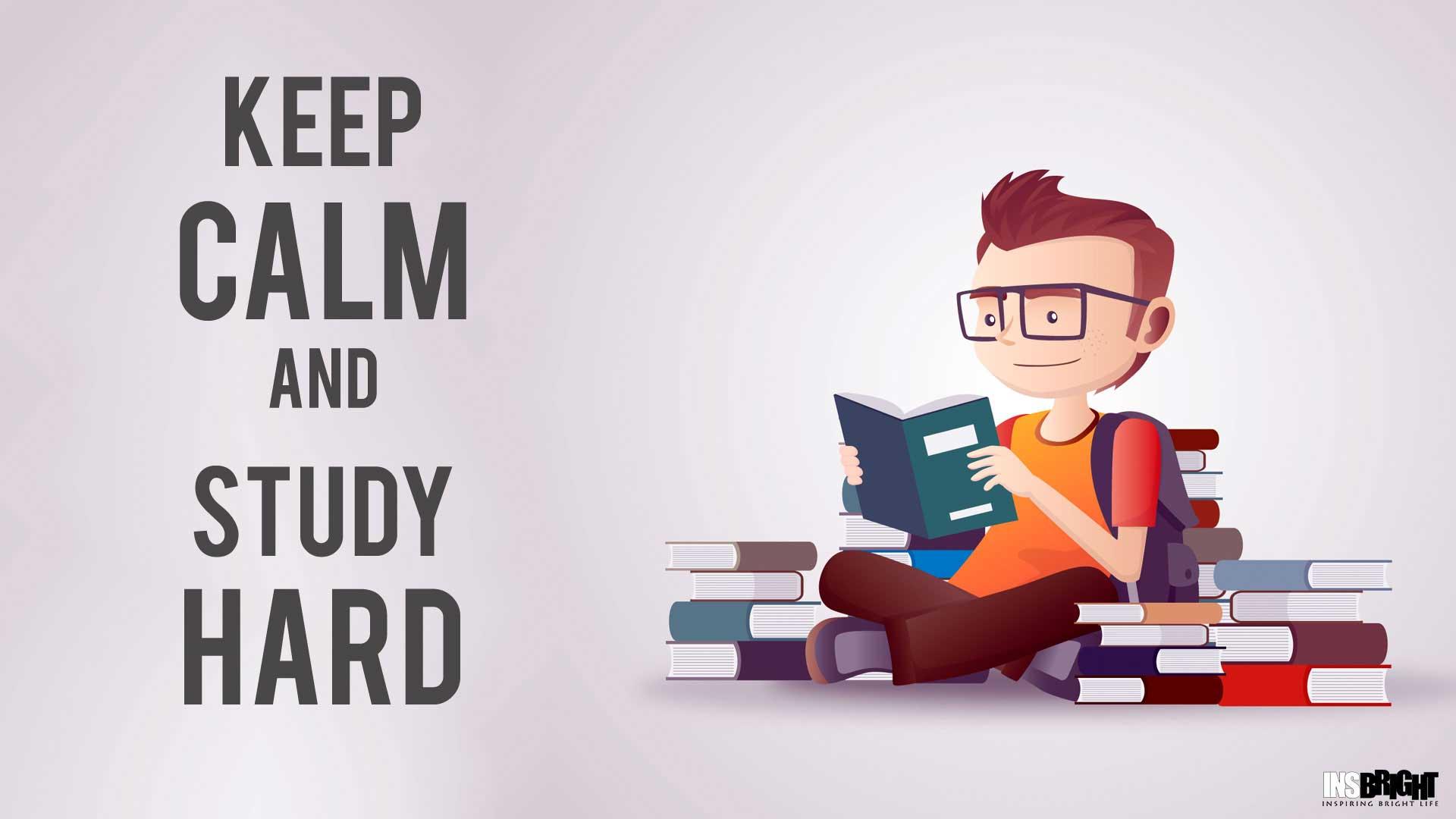 Resultado de imagen para keep calm and study hard