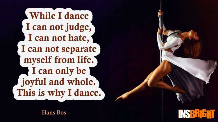 dance quotes images by Hans Bos