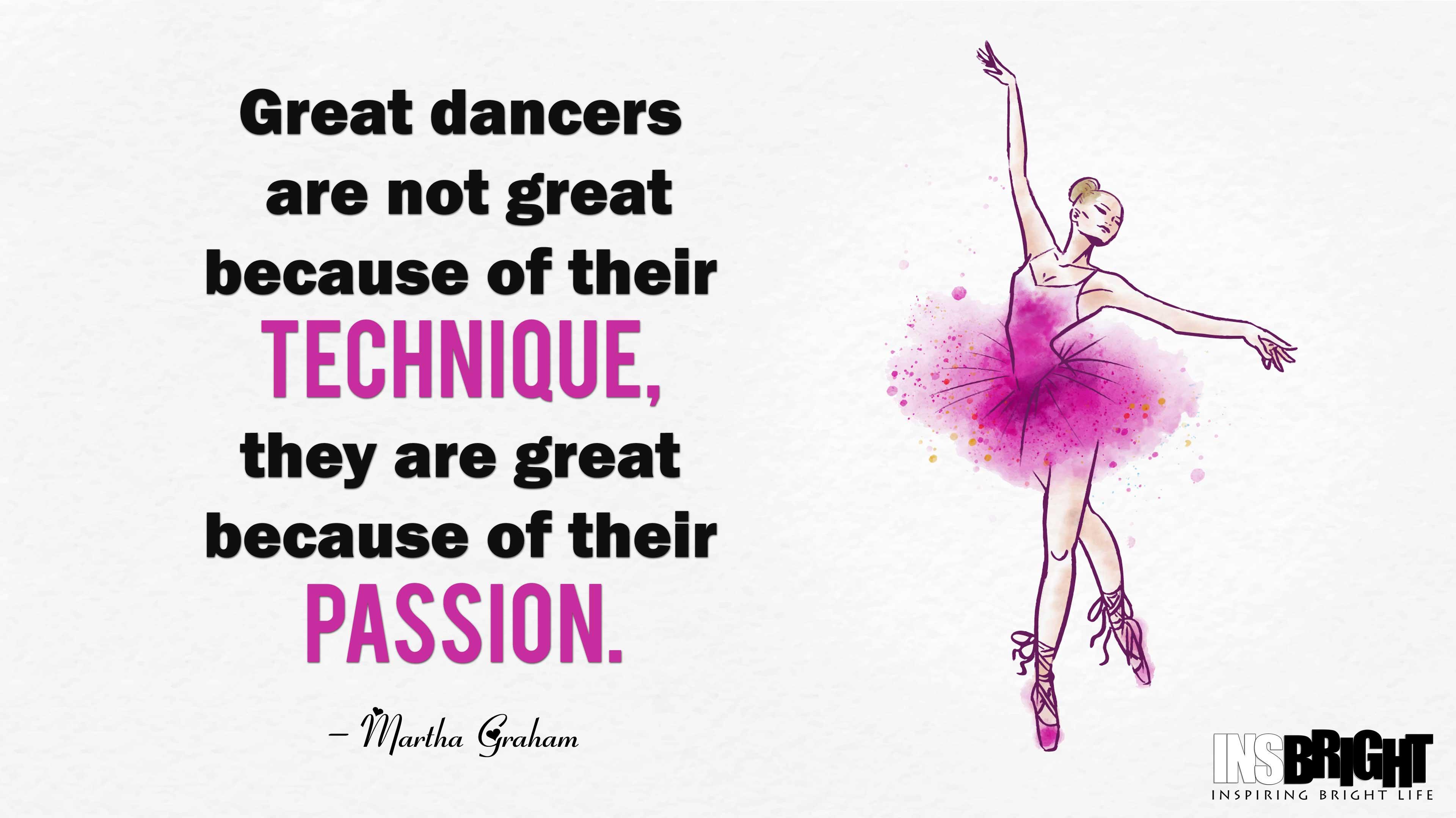 Short Dance Sayings By Martha Graham