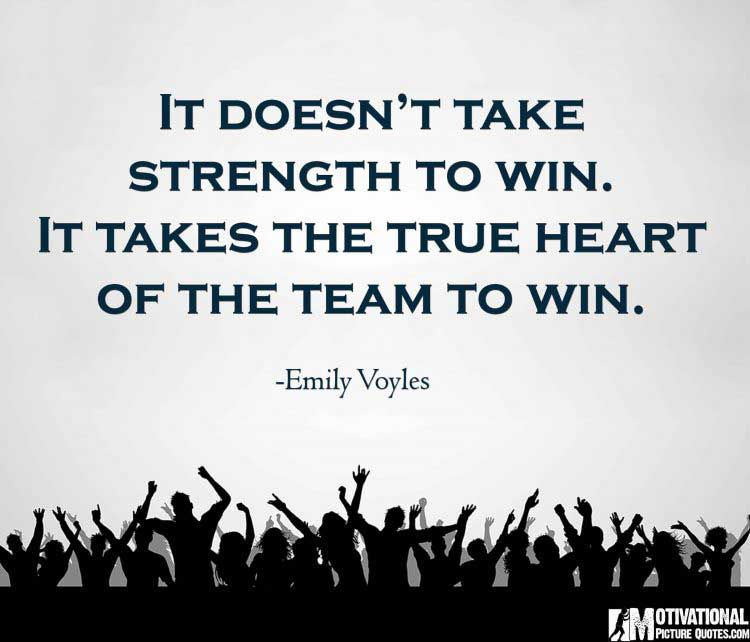 team sports sayings