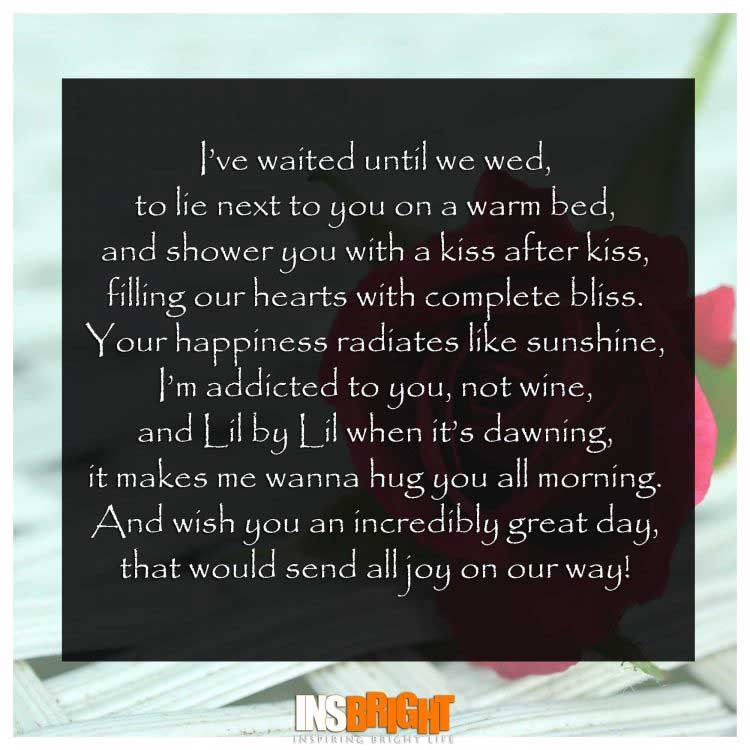 Good Morning Wishes Poems