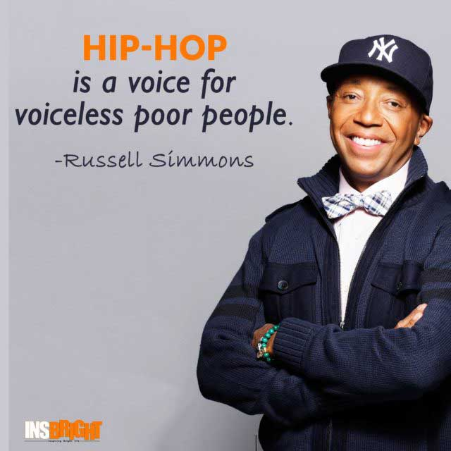 best hip hop quotes by Russell Simmons
