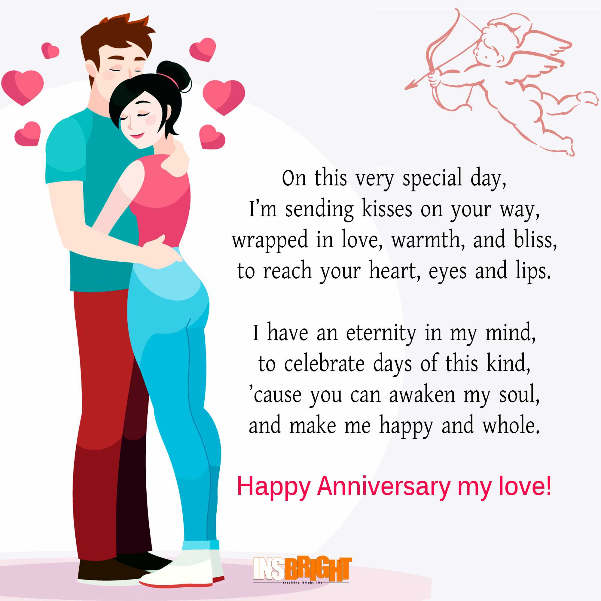 Cute Happy Anniversary Poems For Him Or Her With Images Insbright