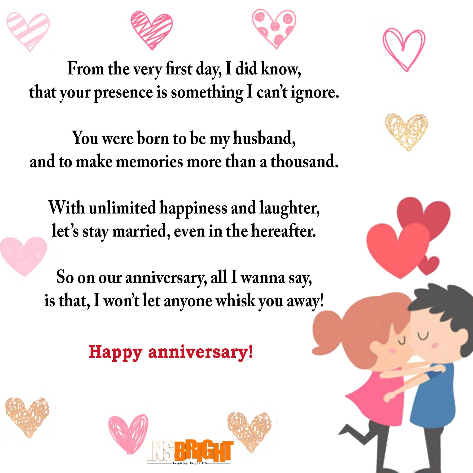 happy anniversary images for him