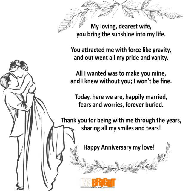 anniversary poems for wife