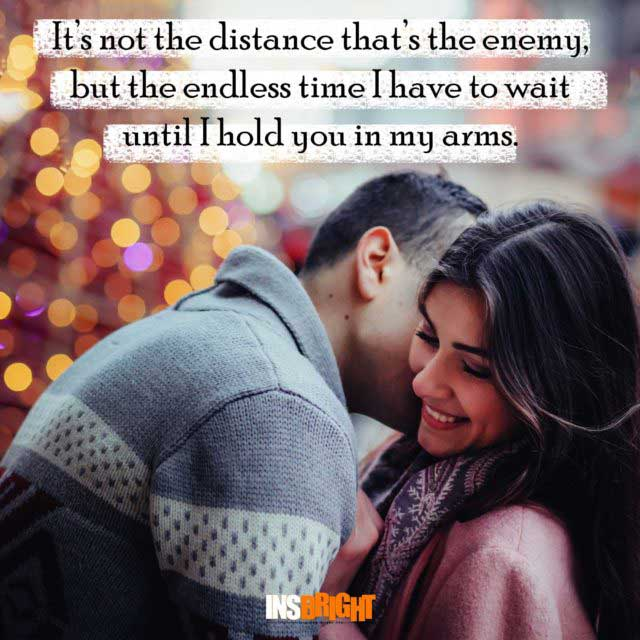 short long distance relationship quote
