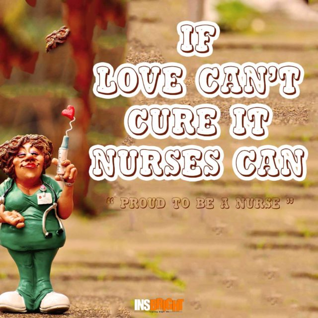 proud to be a nurse quote