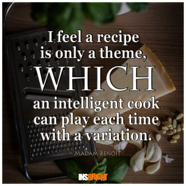 famous cooking quotes
