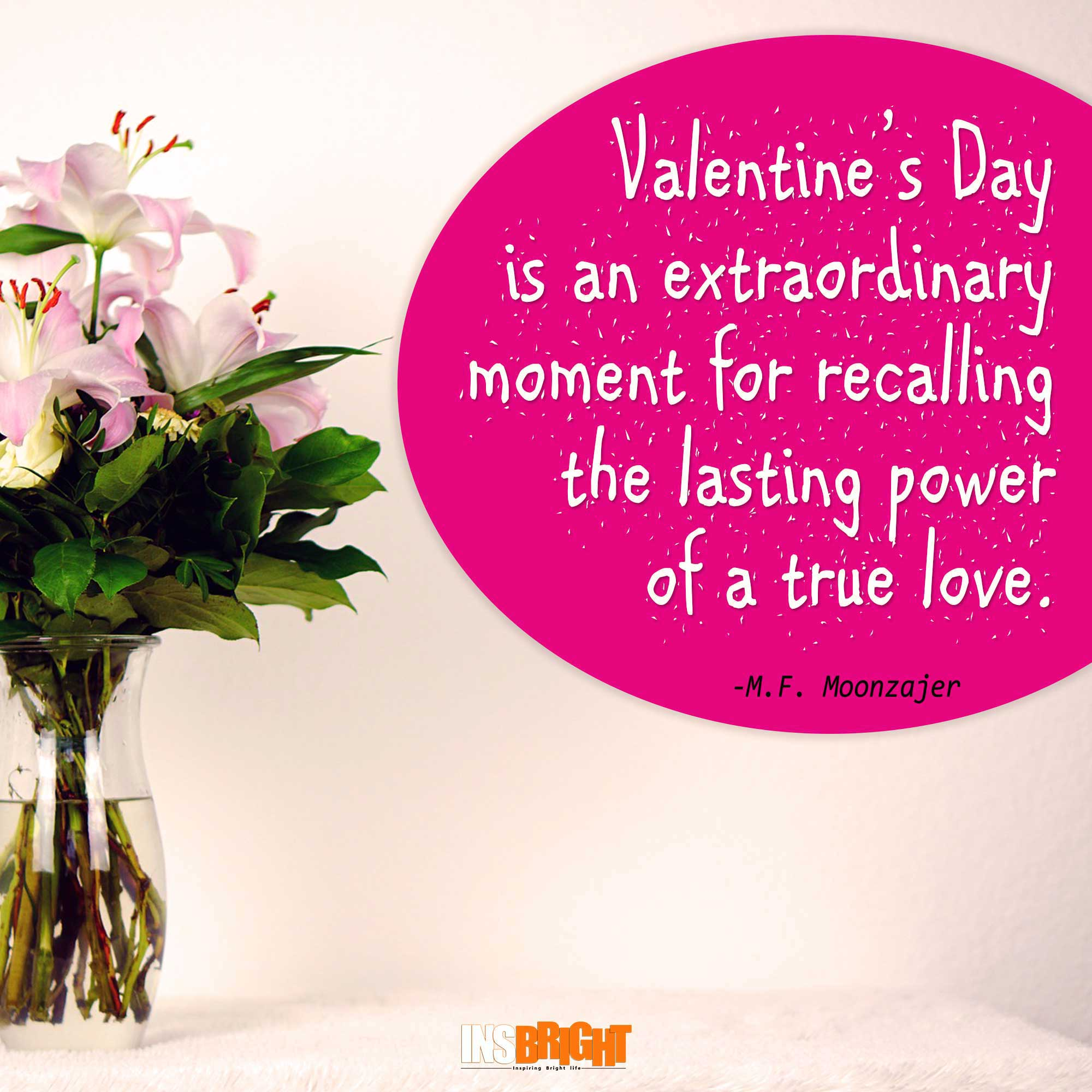Cute happy valentines day quotes with images for him or for Quotes on valentine day