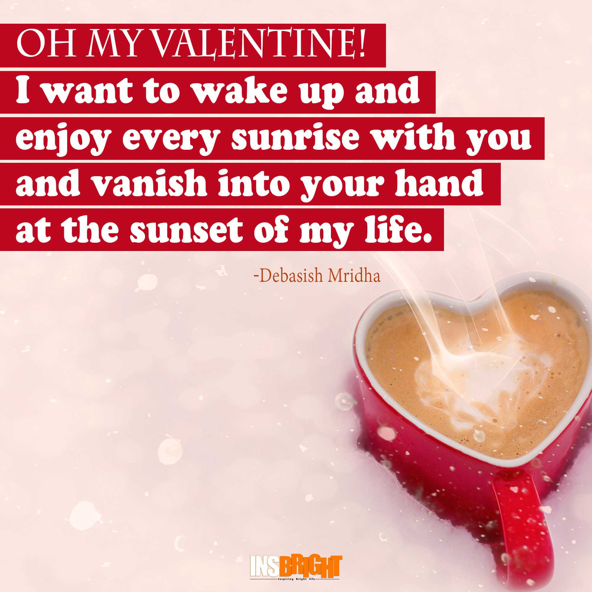 Oh My Valentine Quotes