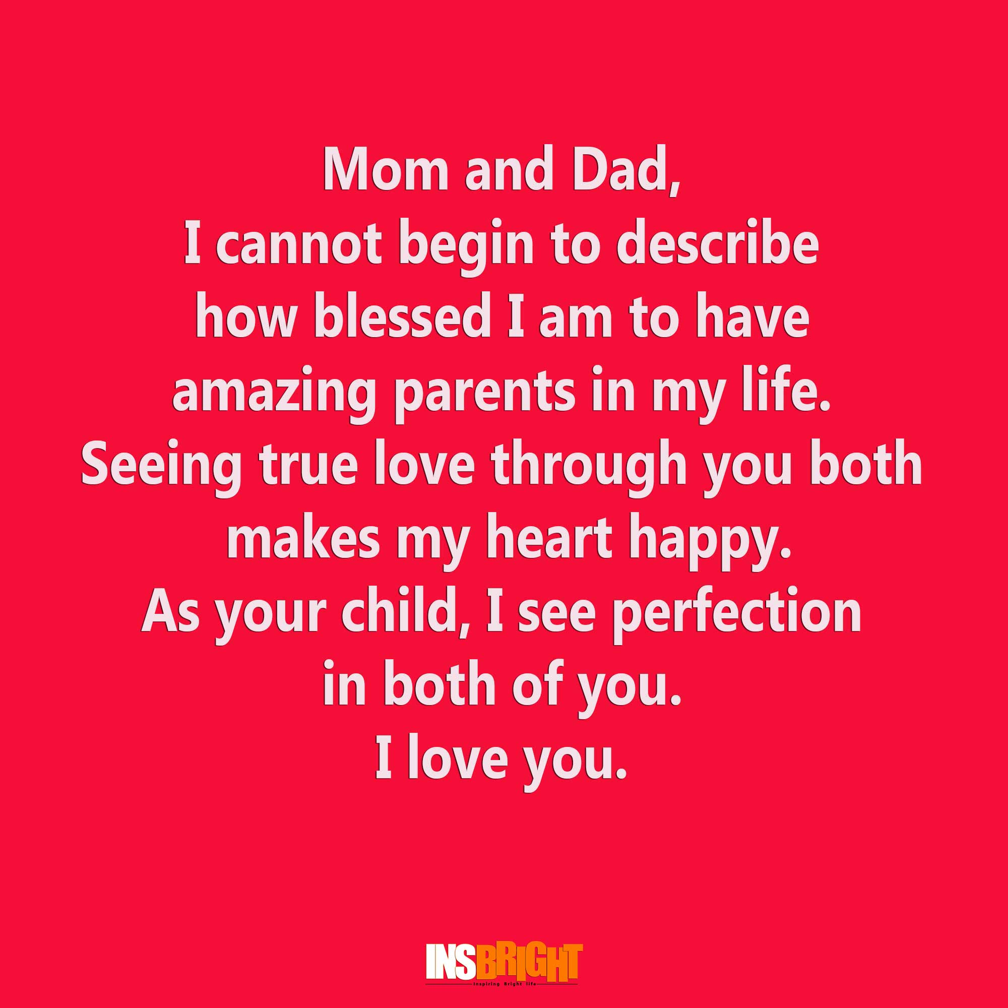 Quotes for wedding anniversary of mom and dad