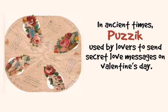 meaning of puzzik in valentine day