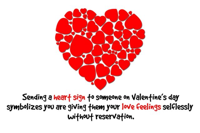 heart symbol meaning in valentine's day