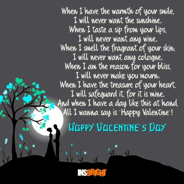 valentine love poems