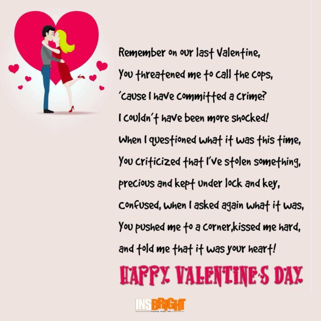 valentines day poems for him