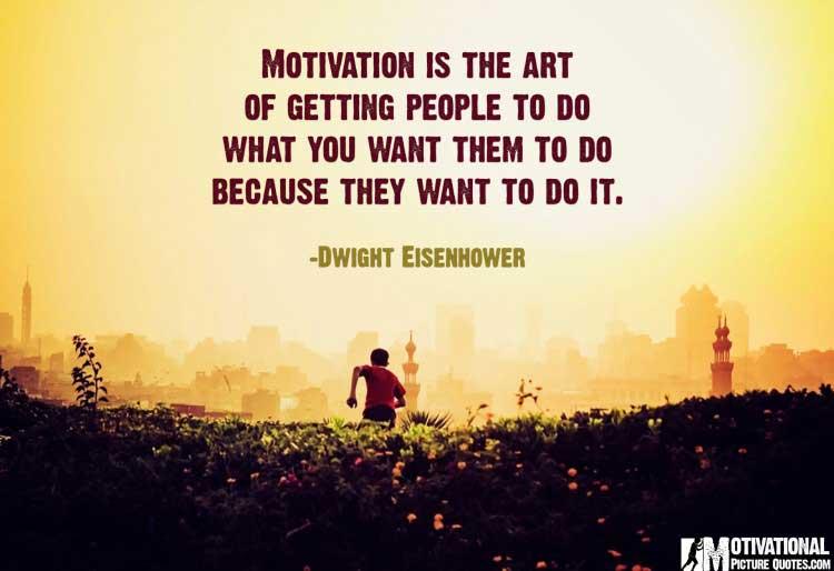 Dwight Eisenhower inspirational message