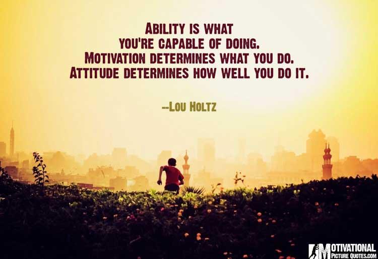 Lou Holtz quotes about motivation