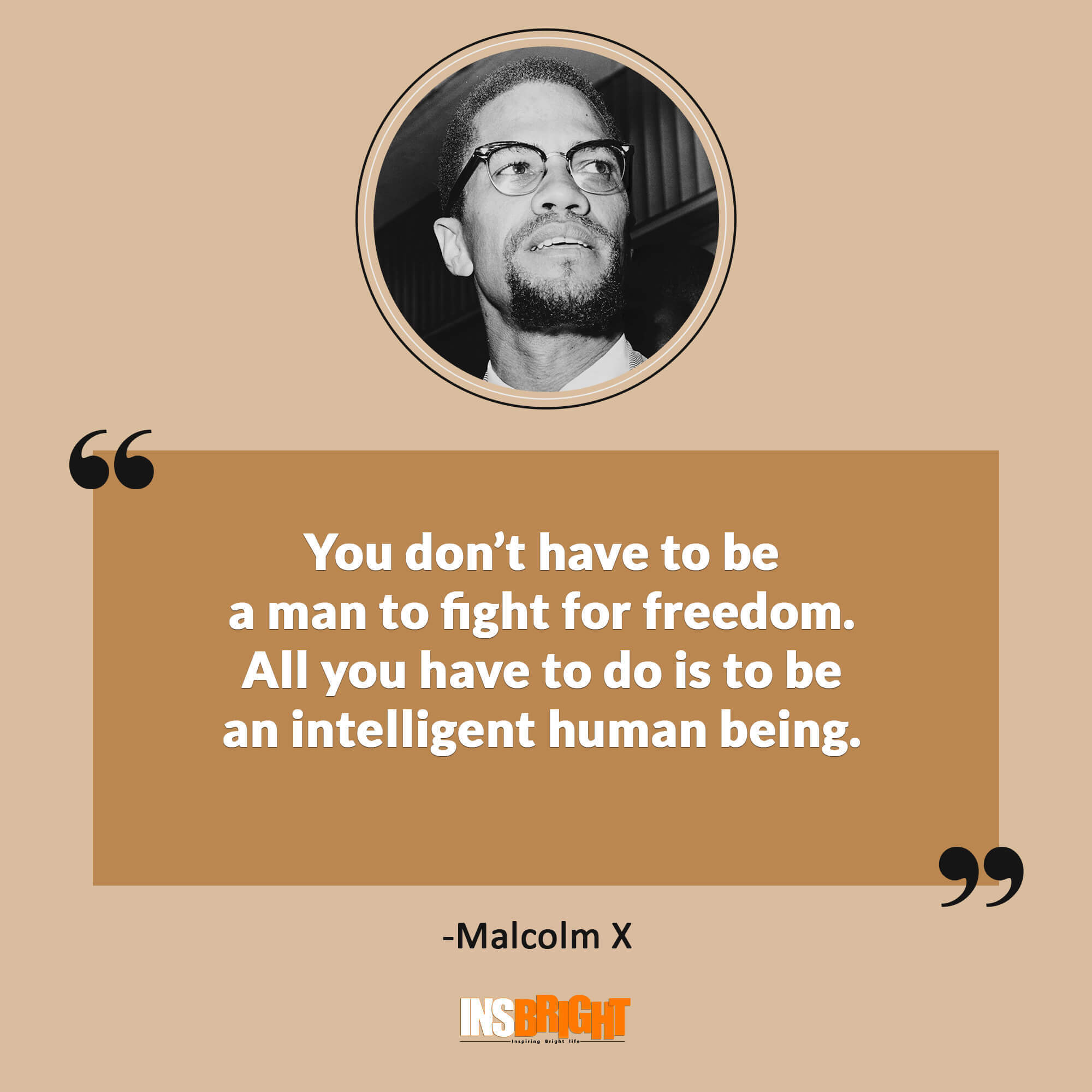38 Famous Malcolm X Quotes With Images Short Malcolm X Greatest