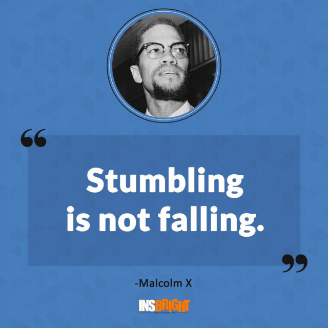 malcolm x motivational quotes