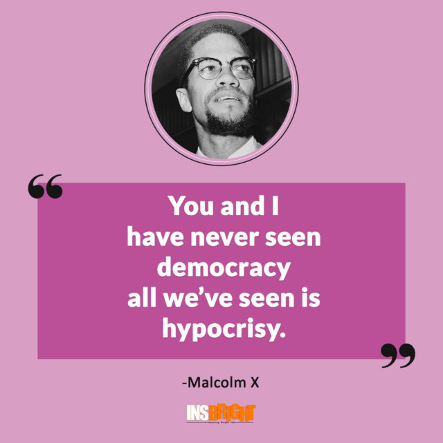 malcolm x on democracy