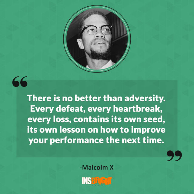 malcolm x quotes life