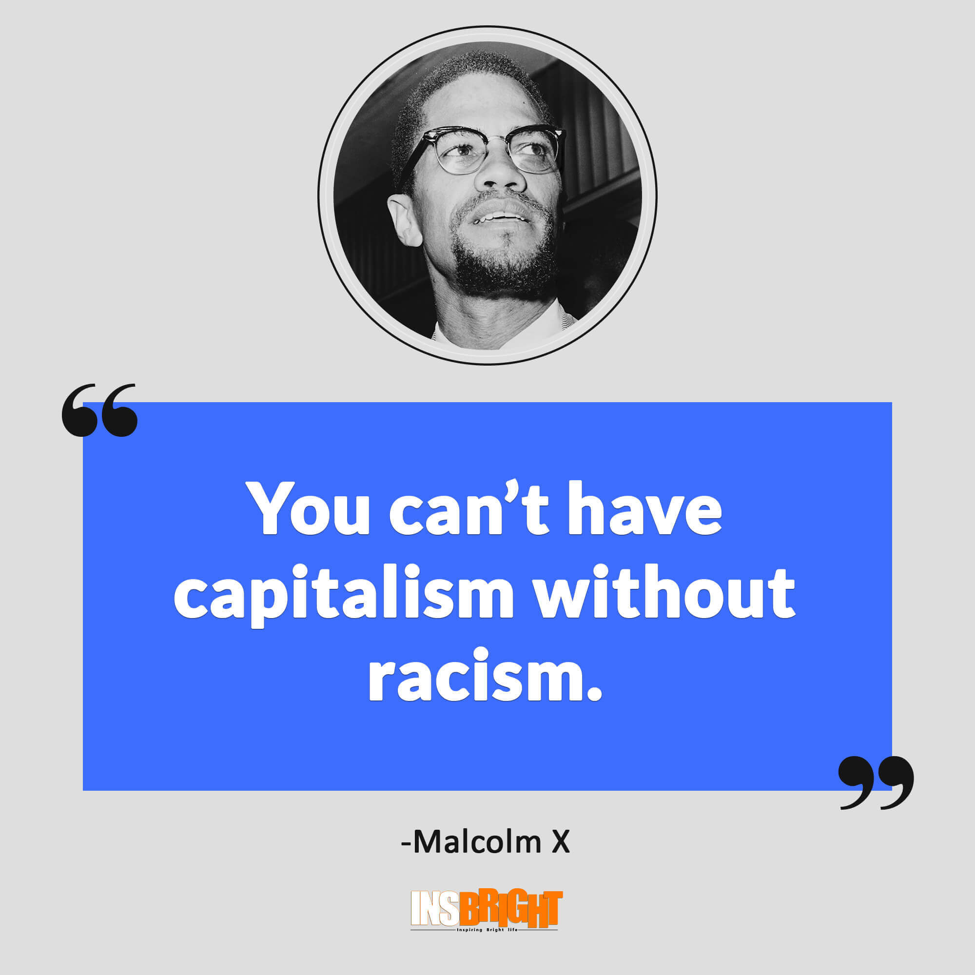 Quotes On Racism 38 Famous Malcolm X Quotes With Images  Short Malcolm X Greatest
