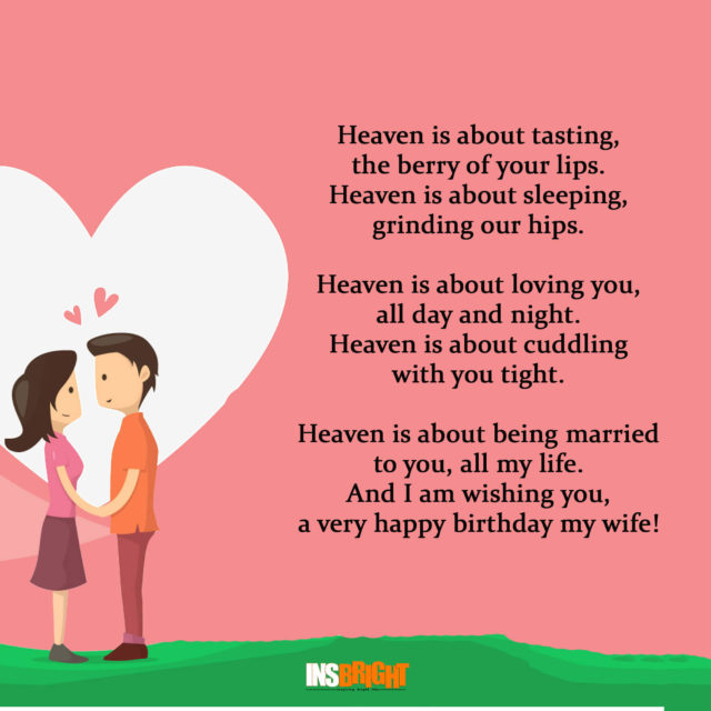 birthday poem for wife