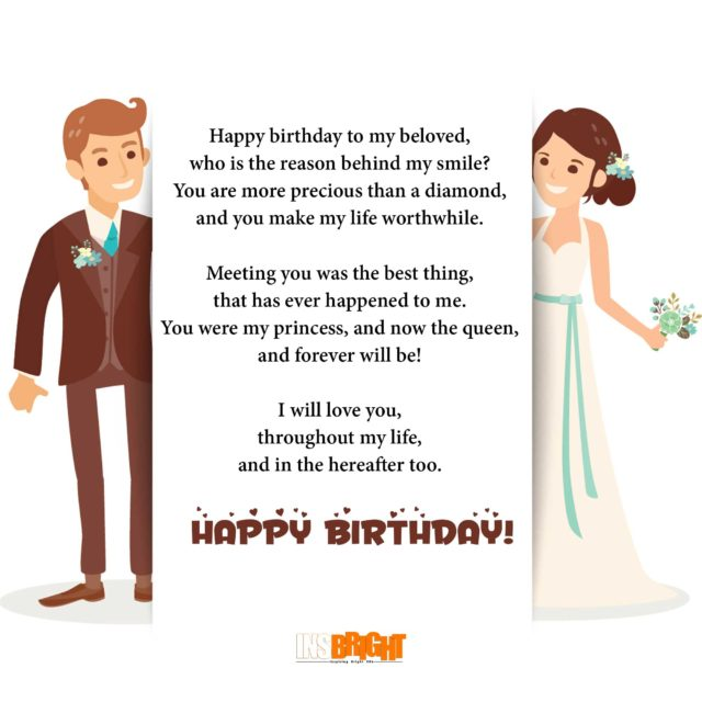 birthday wish poems for wife