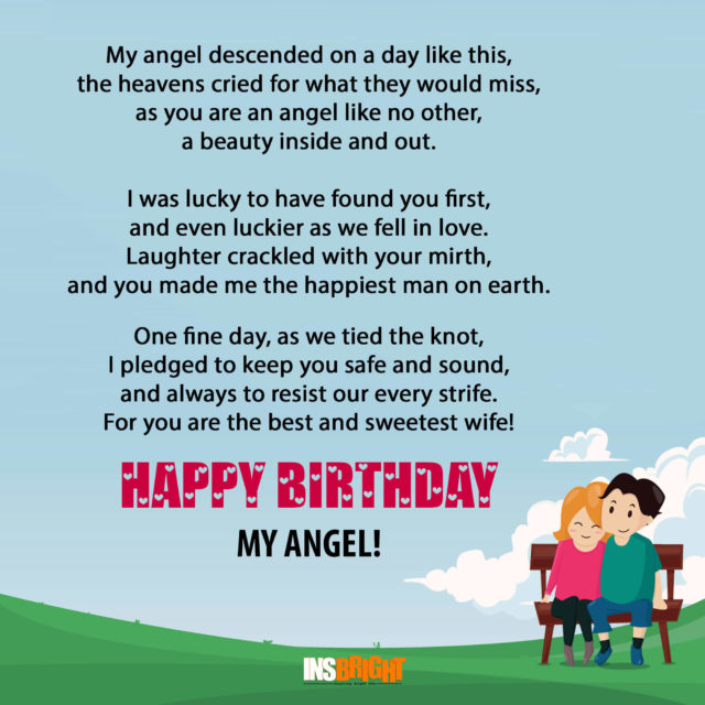 Funny Happy Birthday Poems For Husband: 10+ Romantic Happy Birthday Poems For Wife With Love From