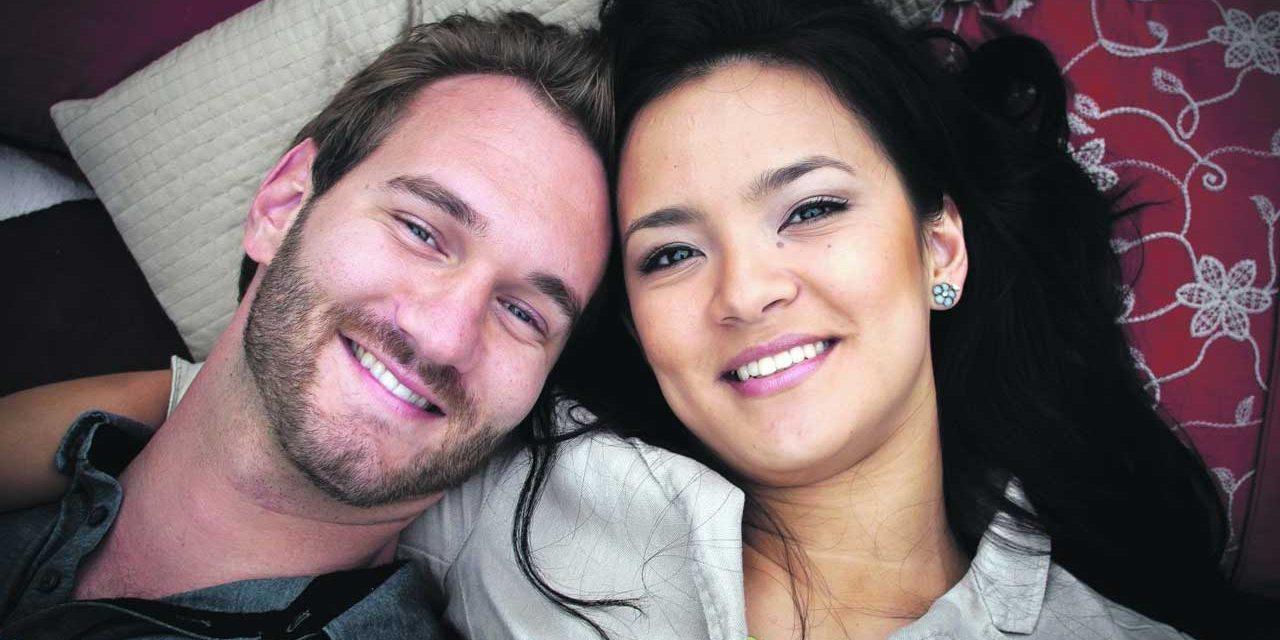 Incredible Love Story of Nick Vujicic and Kanae Miyahara -Love Without Limits