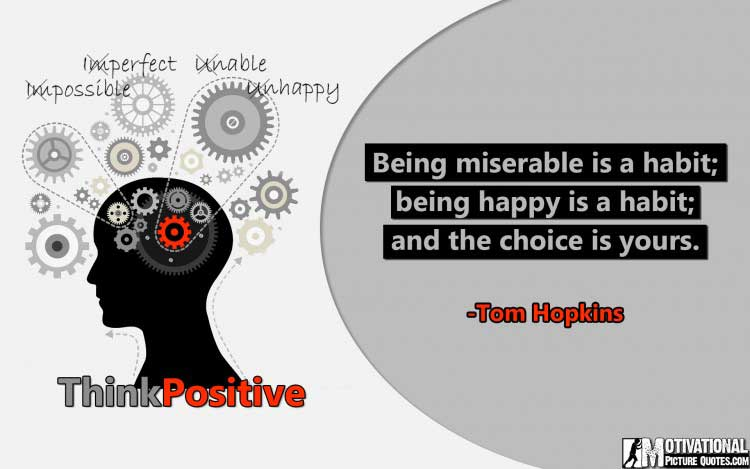 best positive quotes by Tom Hopkins