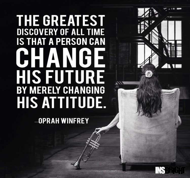 Oprah Winfrey positive quotes