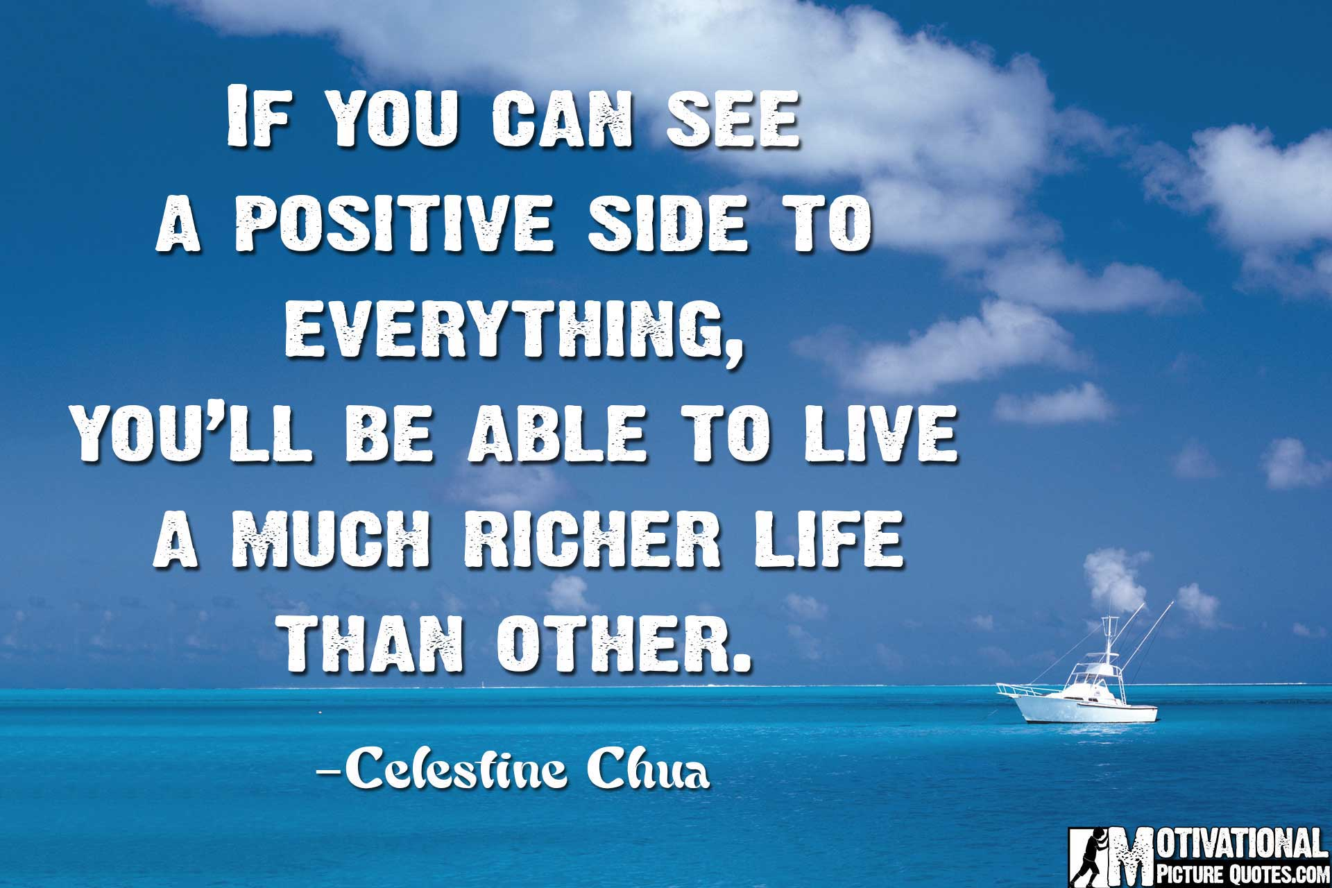 Celestine Chua Positive Thinking Quotes