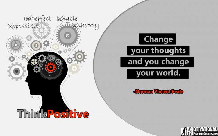 power of positive thinking Quotes by Norman Vincent Peale