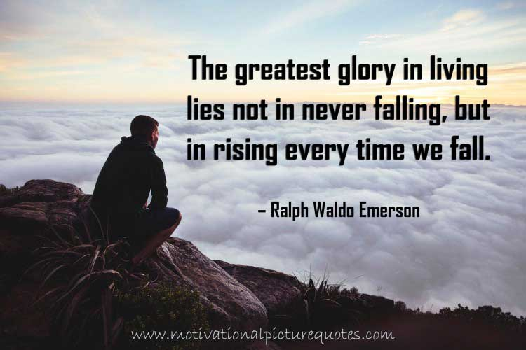 Ralph Waldo Emerson Quotes about Failure