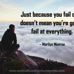 Inspirational Failure Quotes With Images