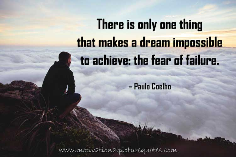 Paulo Coelho Quotes about Failure