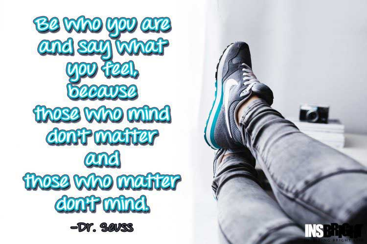 Be Yourself Quotes by Dr. Seuss