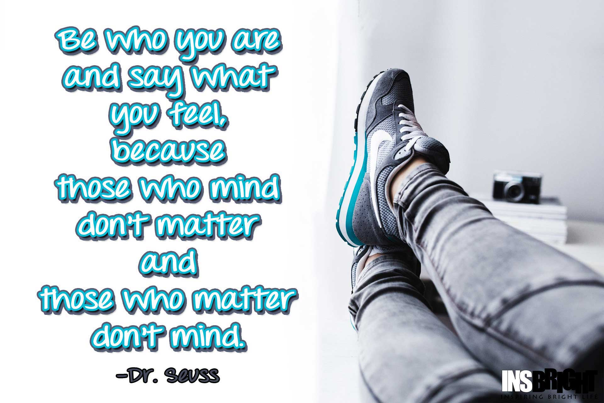 Seuss Quote Be Yourself