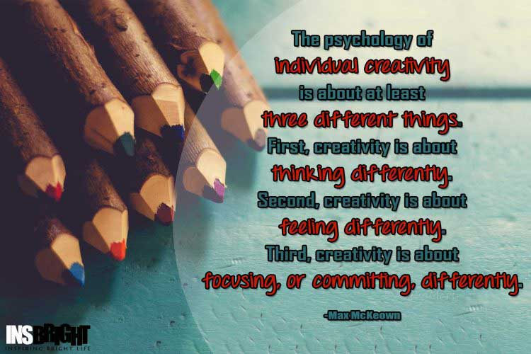 being different from others quotes by Max McKeown