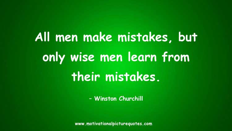 We All Make Mistakes Quotes Pictures