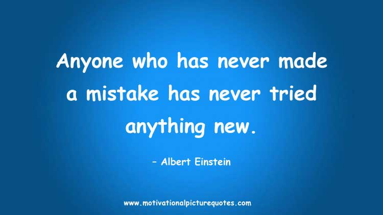 motivational quotes about making mistake