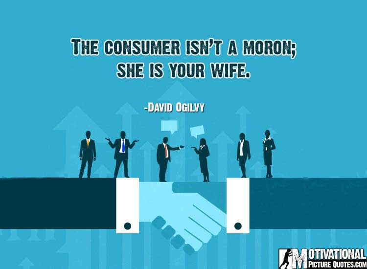 motivational business quotes by David Ogilvy