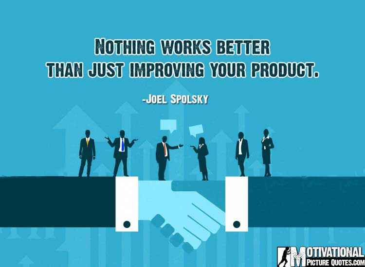 small business quotes for inspiration by Joel Spolsky
