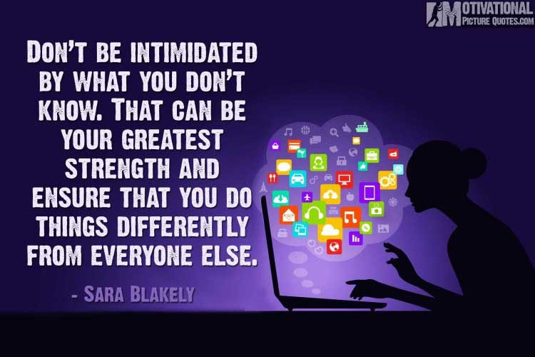 women entrepreneur quotes by Sara Blakely
