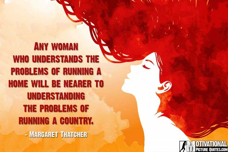 Encouraging Words for Women by Margaret Thatcher